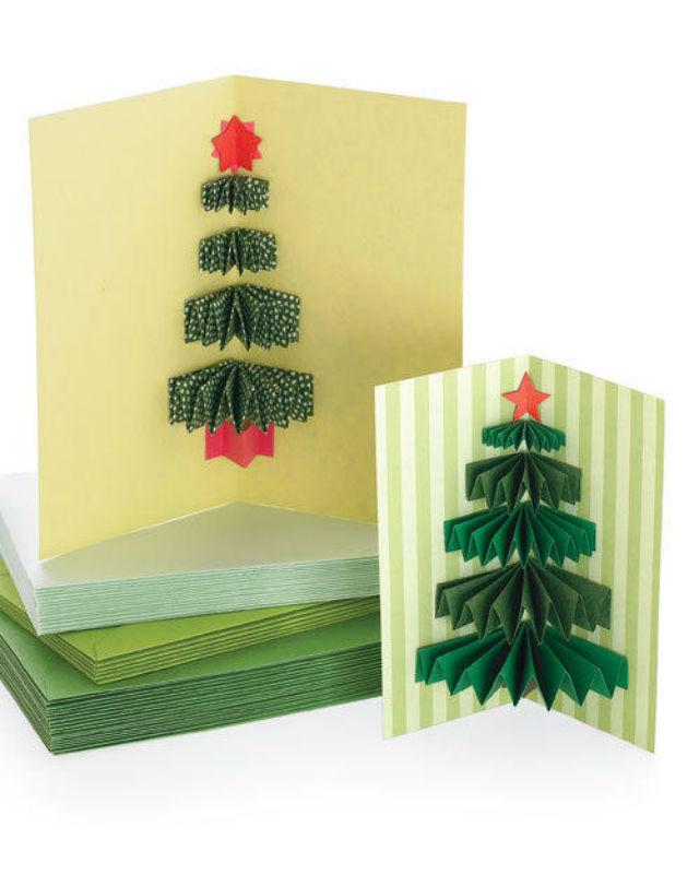 Как украсить открытку на новый год своими