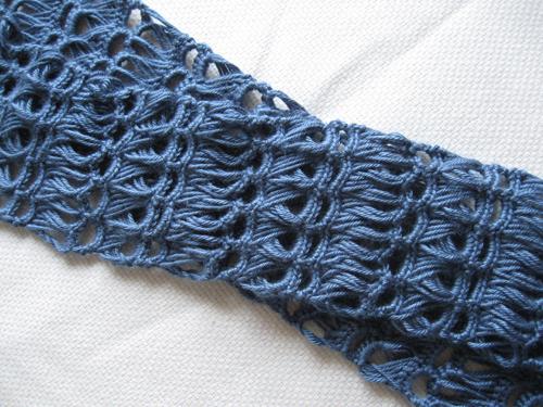 вяжем ажурный шарфик крючком схемы описание