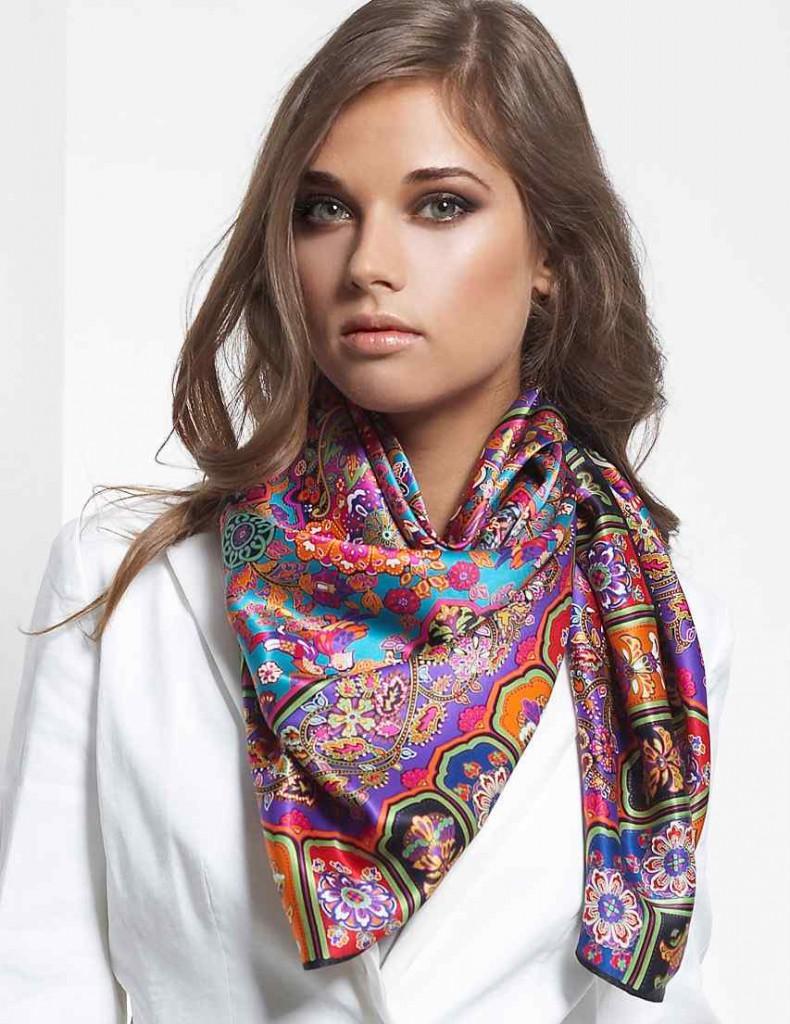 Как правильно и красиво завязывать платок на шее