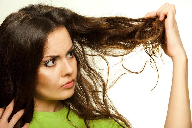 Народные методы по уходу за секущимися волосами