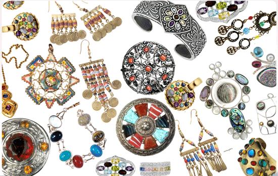 Плюс бижутерии - огромное разнообразие стилей и материалов