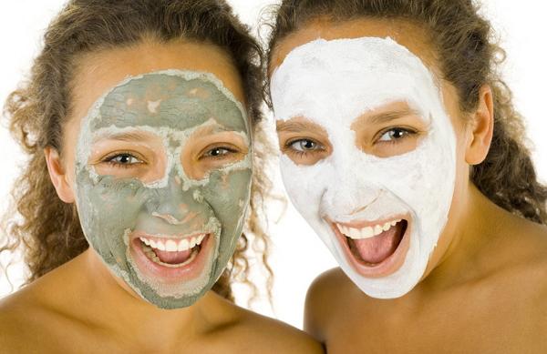 Применение маски для лица
