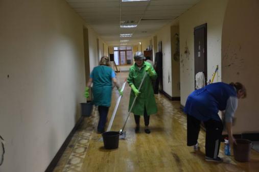 Проведение санитарно-технических работ