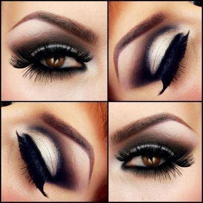 Создание красивого макияжа для карих глаз