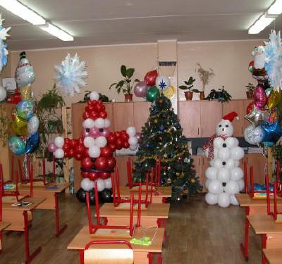Новый год в офисе идеи украшение