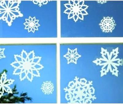 Создание снежинок