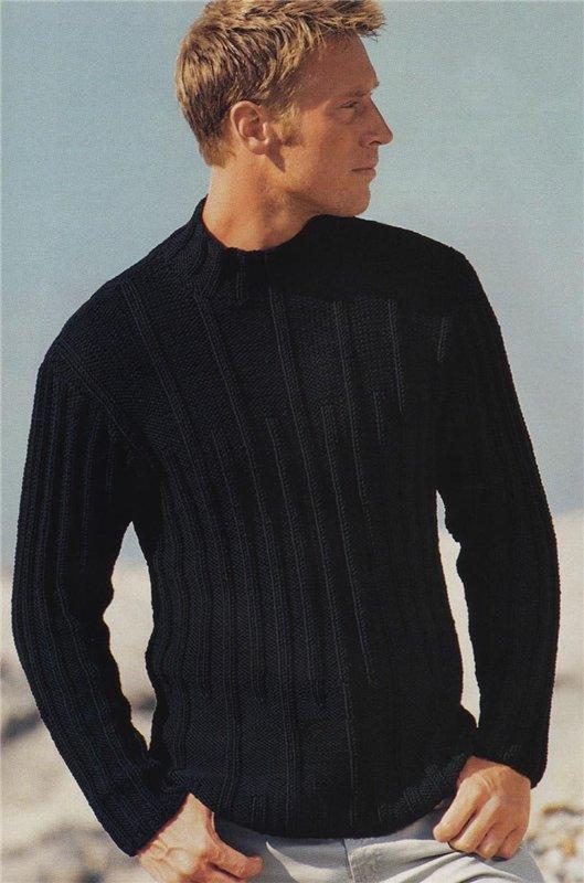 Простая модель свитера