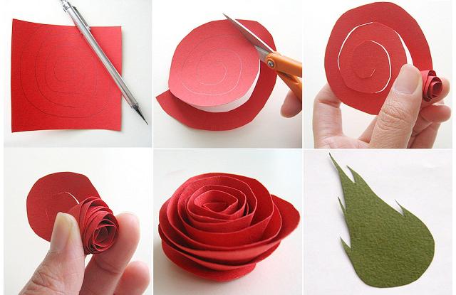 Цветы из бумаги цветной своими руками - Zdravie-info.ru