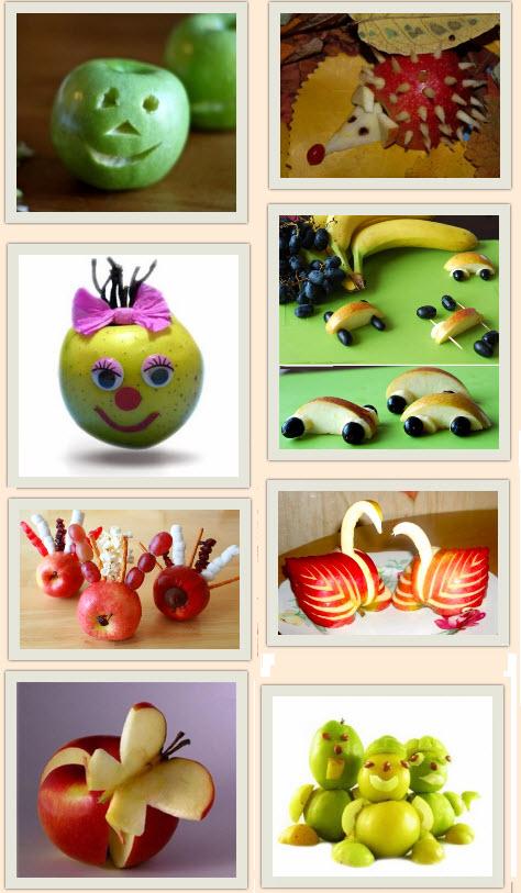 Поделки из фруктов своими руками для детского сада 500