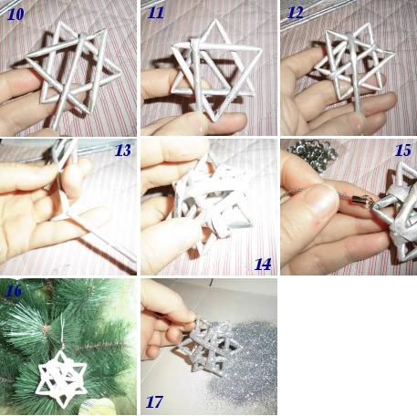 Игрушки из бумажных трубочек своими руками 47