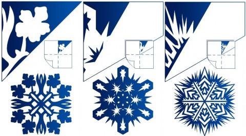 Оригами снежинки из бумаги своими руками схемы