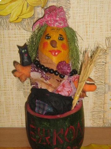 Баба -Яга из овощей, фото