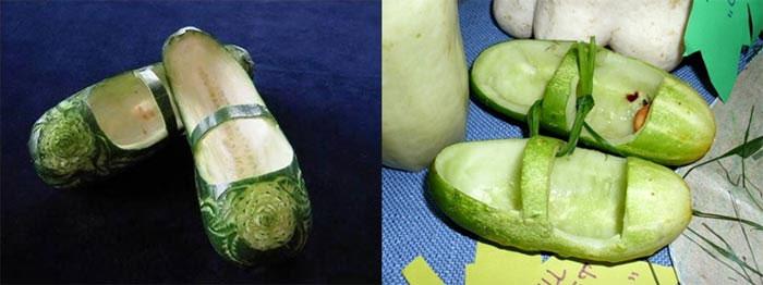 Башмаки из кабачков, фото