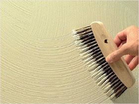 Декоративная штукатурка стен своими руками, фото