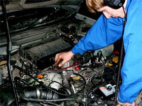 Диагностика причины шумов в двигателе, фото