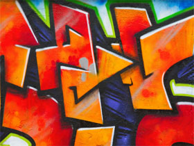 Как научиться красиво рисовать граффити, фото