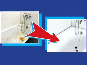 Как отремонтировать чугунную ванну, фото