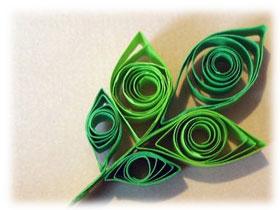 Как сделать квиллинг листья, фото