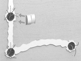 Как сделать монтаж скрытой проводки, фото