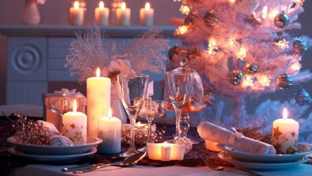 Как украсить стол к новому году, фото