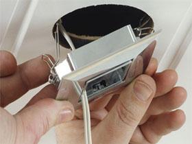 Как устанавливать точечные светильники, фото