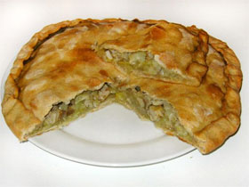 Картофельная начинка для пирогов, фото