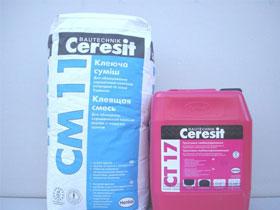 Клей для плитки Ceresit СМ11, фото