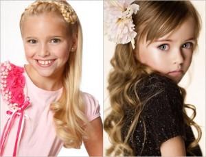 Красивые детские прически для длинных волос, фото