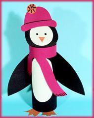 Пингвин с шарфом, фото