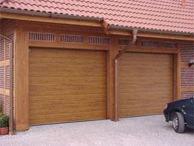 Секционные ворота, фото