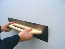 Шпаклевка стен под покраску, фото