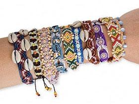 Техника плетения браслета из бисера, фото