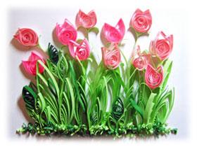 Технология выполнения квиллинг цветы, фото