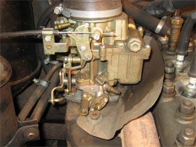 Тепловые заслонки карбюраторных двигателей, фото