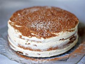 Торт тирамису в домашних условиях, фото