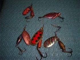Зимние снасти для рыбалки, фото