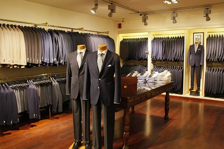 Анализ рынка магазина мужской одежды