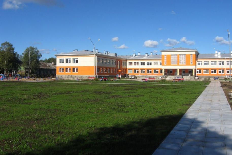 Большая территория школьного двора