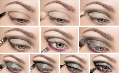 Вариант макияжа глаз