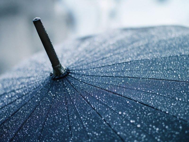 Гаджет внедренный в зонтик