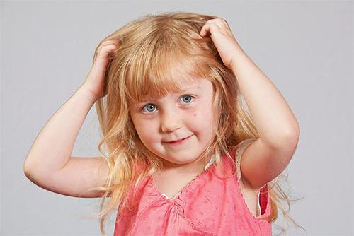 Зуд головы у ребенка