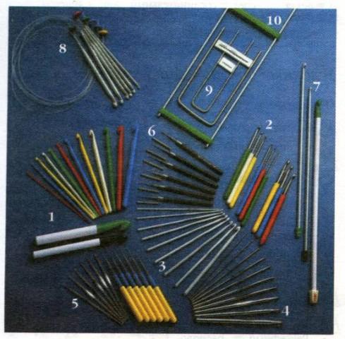 Инструменты для вязания, фото