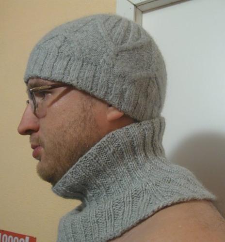 Как вязать манишку спицами для мужчины, фото
