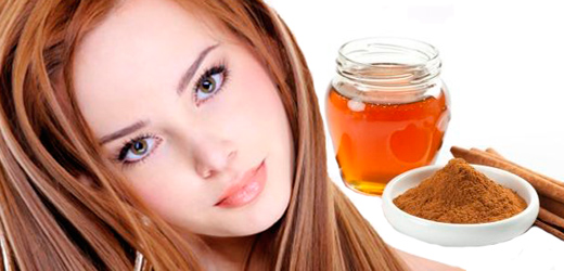 Корица и мед в осветлении волос