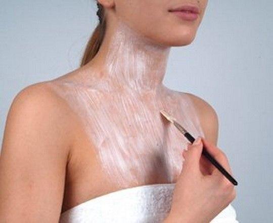 Маски с подтягивающим эффектом для шеи и декольте