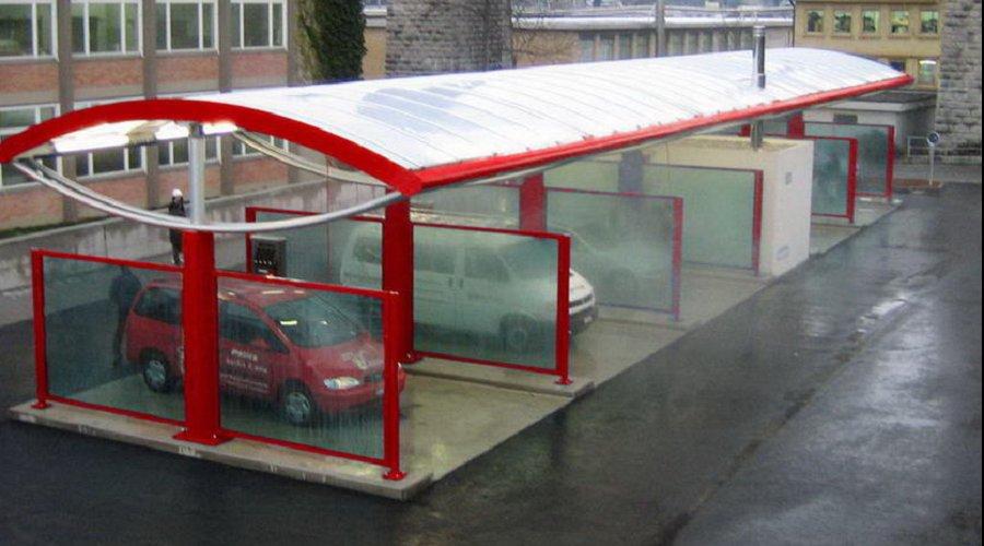 Место и расположение автомойки