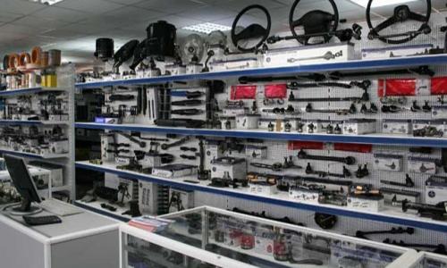 Оборудование и ассортимент магазина автозапчастей