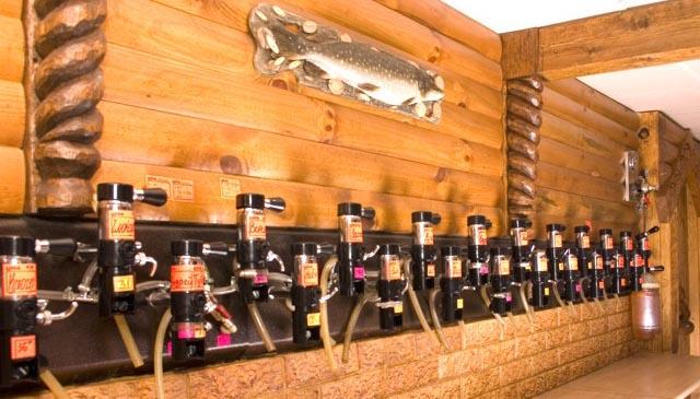 Оборудование магазина разливного пива