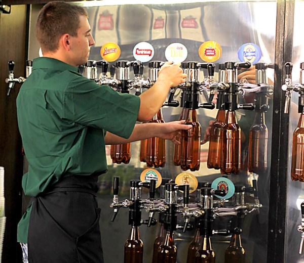 Персонал для магазина разливного пива