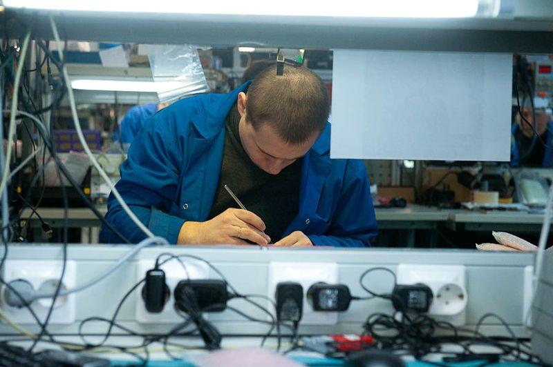 Помещение ремонта телефонов